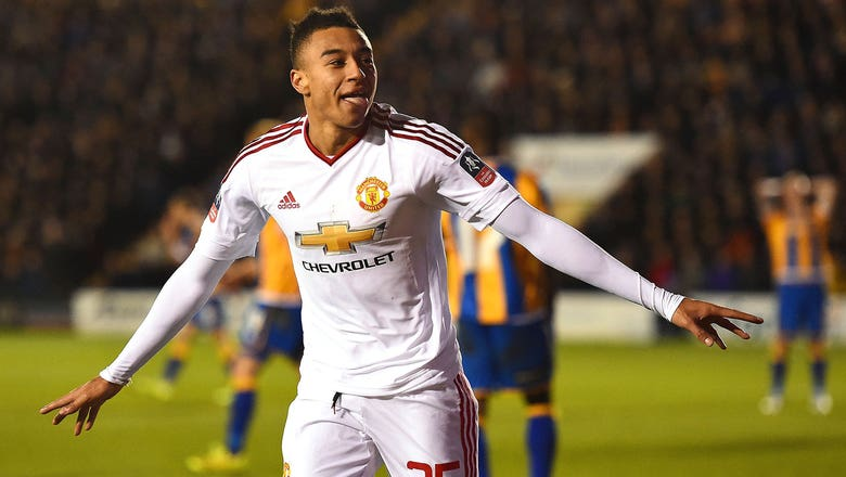 Man United get back on track with rout of lowly Shrewsbury