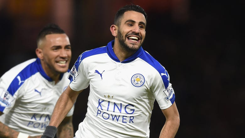 Barca boss makes Leicester star Mahrez his No.1 target