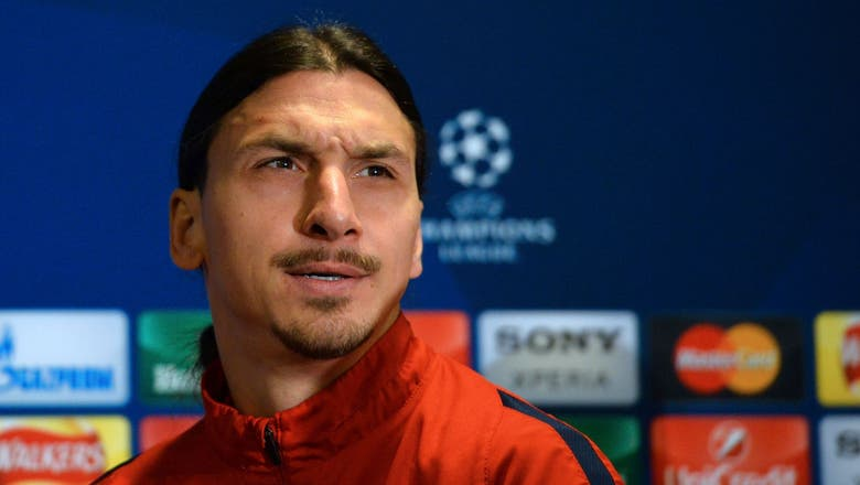 PSG striker Ibrahimovic preparing for United move