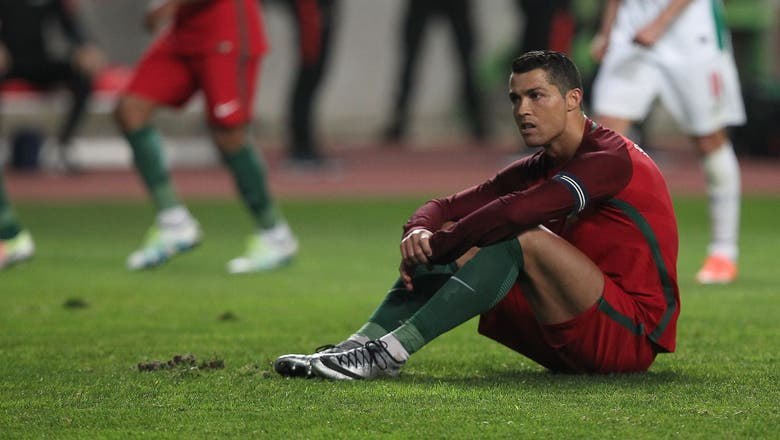 Portugal boss says Ronaldo is 'reserving his goals for the Euros'