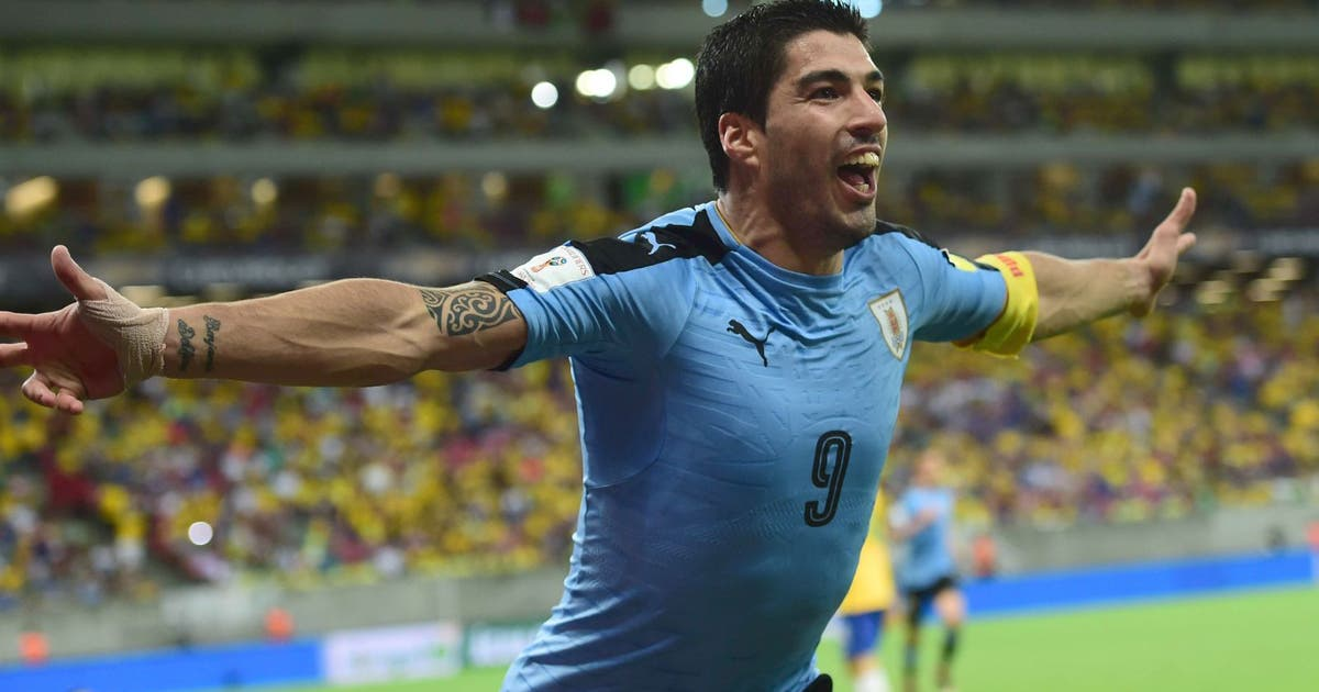 Suarez Scores Equalizer On Return As Uruguay Hold Brazil Fox Sports