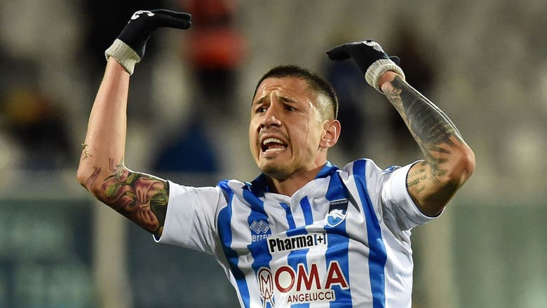 Tottenham set to battle Barca for Pescara striker Lapadula