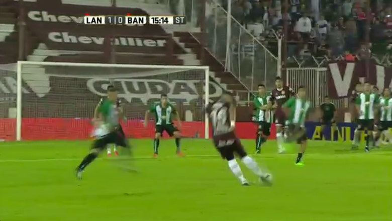This long-range goal in an Argentina derby is absolutely filthy