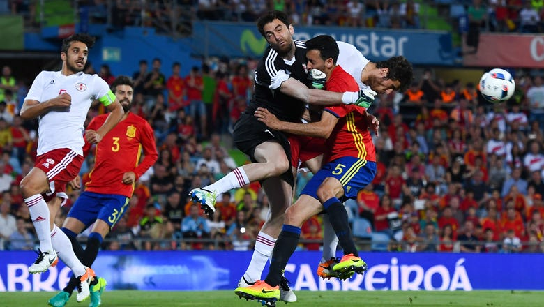 European champs Spain crash to 1-0 friendly defeat against Georgia