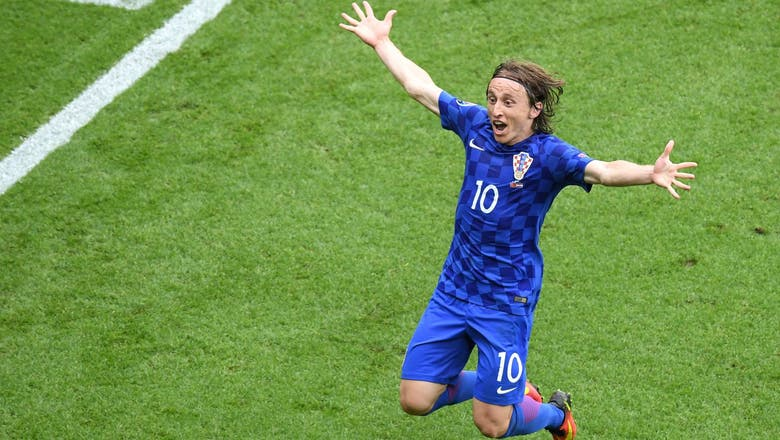 Modric's stunning volley hands Croatia victory over Turkey