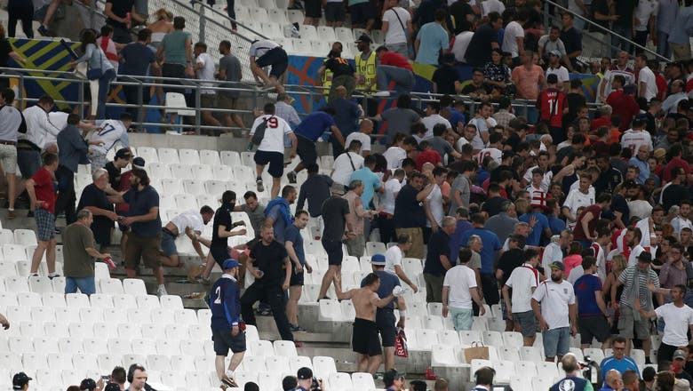 France to deport 20 Russians for violence at Euro 2016
