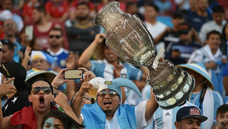 What time and channel are the Mexico, Argentina Copa America quarterfinals on?