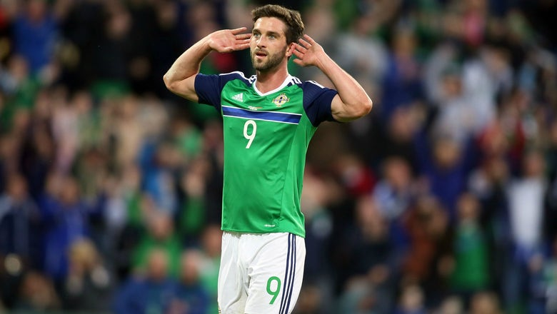 Watch Will Grigg receive a hero's welcome after not playing 1 minute at Euro 2016