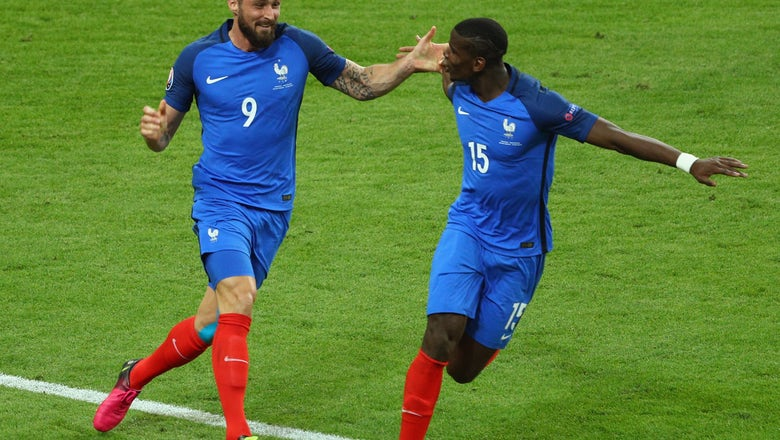 Merciless France ends Iceland's miracle run; sets up true Euro final