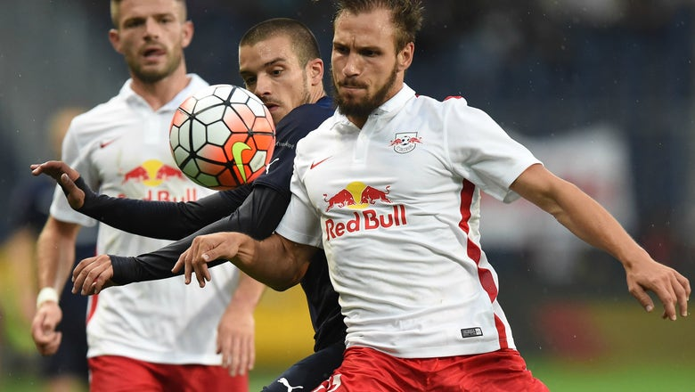 Red Bull Salzburg defender plays Champions League match in RB Leipzig shirt