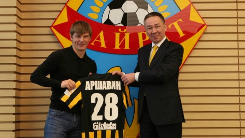 Ex-Arsenal star Andrey Arshavin rolls back the years with beautiful solo goal