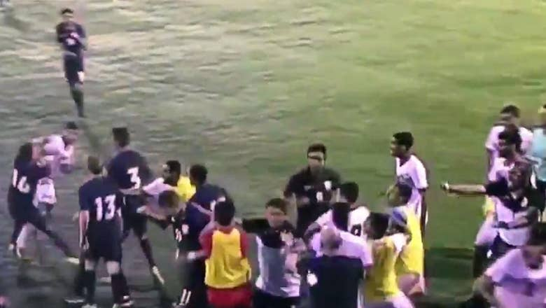 The U.S. U-19s broke into a massive brawl while losing to Bahrain