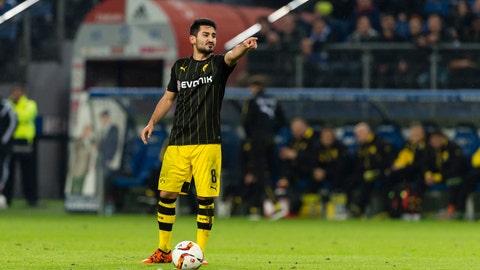 Ilkay Gundogan to Manchester City