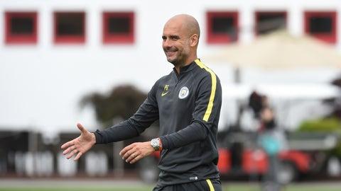 Pep Guardiola — Manchester City