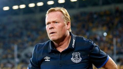 Ronald Koeman — Everton
