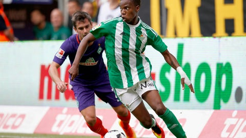 Charly Musonda - Real Betis (on loan from Chelsea)