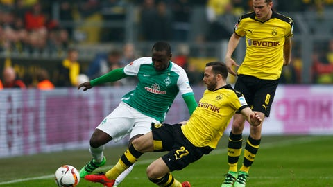 Werder Bremen vs. Borussia Dortmund - January 20
