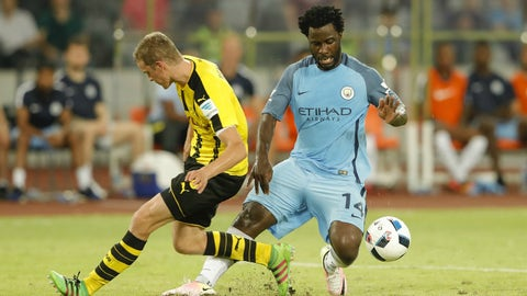 Wilfried Bony, Manchester City