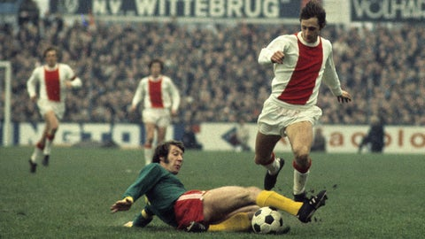 Johan Cruyff, Ajax (1957-73, 1981-83)
