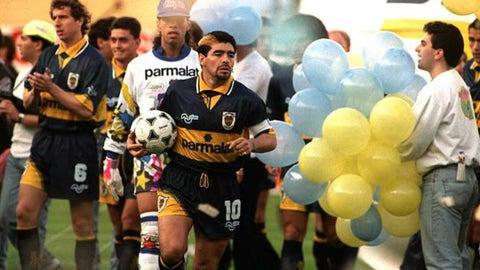 Diego Maradona, Boca Juniors (1981-82, 1995-97)