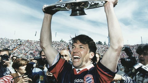 Lothar Matthäus, Bayern Munich (1984-88, 1992-99)