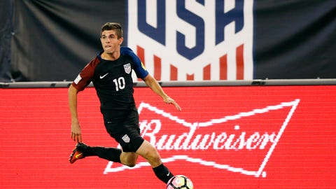 The Christian Pulisic hype train won't slow down