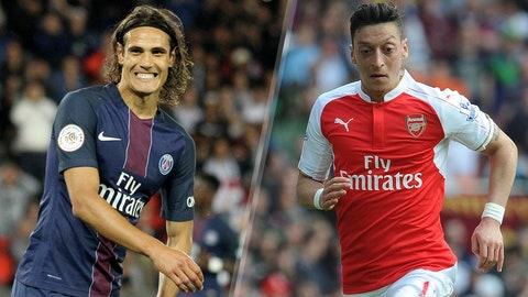 Group A: Paris St. Germain, Arsenal (Basel, Ludogorets)