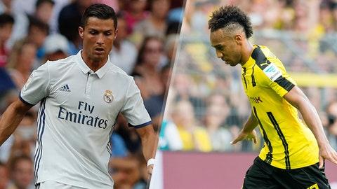 Group F: Real Madrid, Borussia Dortmund (Sporting CP, Legia Warsaw)