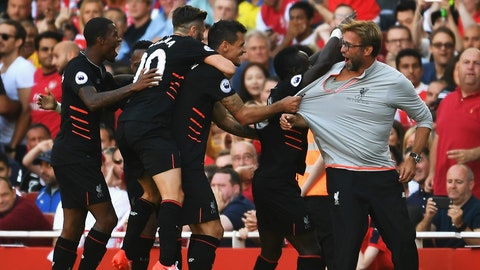 Expect Jurgen Klopp to snap another pair of glasses