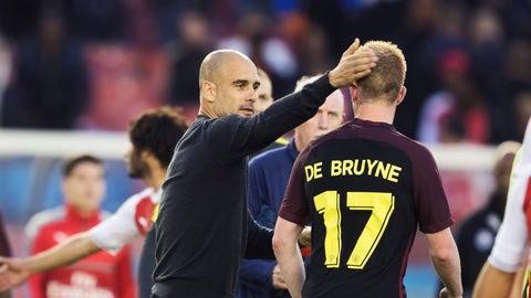 Kevin De Bruyne - Pep Guardiola