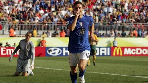 Totti's match-winning penalty against Australia