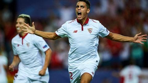 Sevilla in control