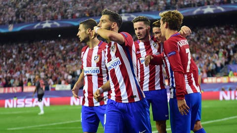 Atletico Madrid (Previously: 6)