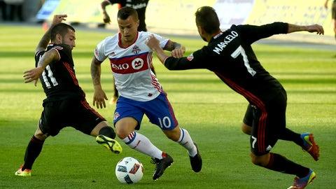 Toronto FC vs. D.C. United - Saturday, 7:30 pm