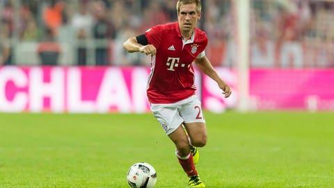 Philipp Lahm, Bayern Munich (88 overall)