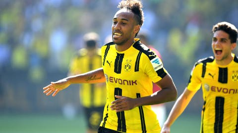 Dortmund CEO - We would consider €80 million Pierre-Emerick Aubameyang bid
