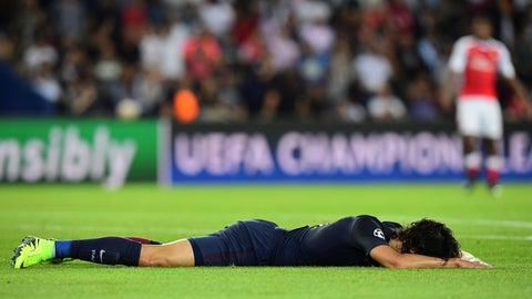 WORST OF THE WEEK: Edinson Cavani - Paris Saint-Germain