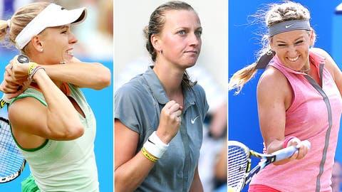 Caroline Wozniacki, Petra Kvitova, Victoria Azarenka