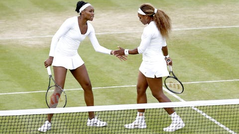 Day 3: Sisters in doubles