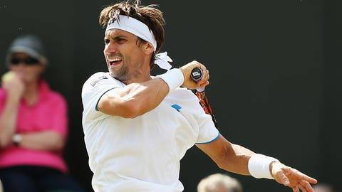 Day 3: Ferrer's streak ends