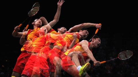 14. Badminton