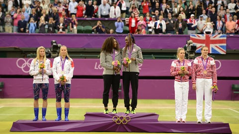 Serena/Venus Williams (2000-2016); tennis; 4 G