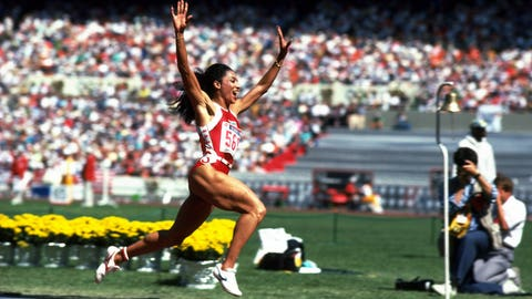 Florence Griffith Joyner (1984-1988); track and field; 3 G, 2 S