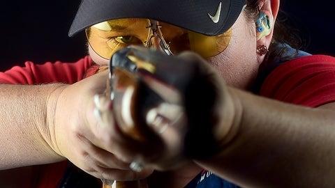 Kim Rhode (1996-2016); shooting; 3 G, 1 S, 1 B