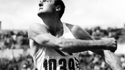 Bob Mathias (1948-1952); decathlon, 2 G