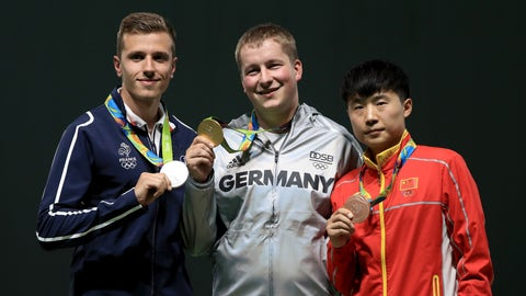 Germany, ranked No. 5, has the best gold-medal ratio of any country in the top 10