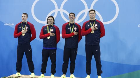 Eliminate swimming and the U.S. would be third on the medal count.