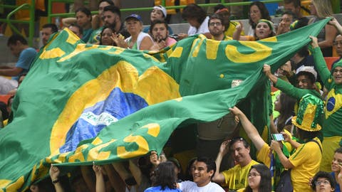 Brazil has the most citizens for every gold medal