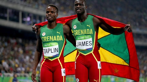 Grenada has the smallest population for any medal winner