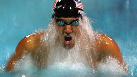 32. Swimming